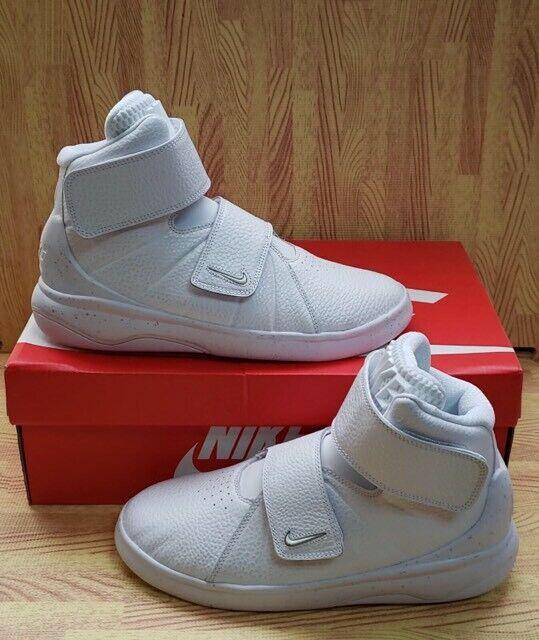Nike Marxman PRM AS QS Youth Basketball Shoes Sz 7Y NEW 840841 100 White $120
