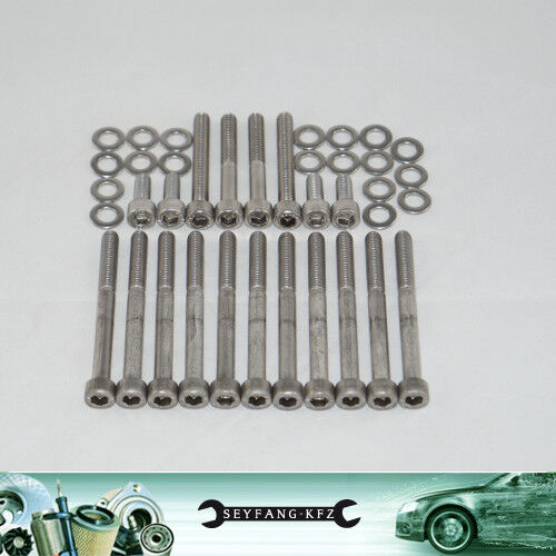 Screws Stainless Steel Valve Cover VW Polo 6N2 1.4 16V 1.6 Gti