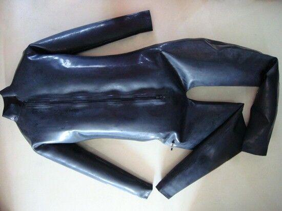 100% Latex Rubber Inflatable Catsuit .45mm Suit Bodysuit Unitard Zentai Blow up