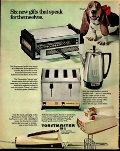 Image Is Loading 1967 Toastmaster Toaster Coffee Maker Broiler Oven Mixer