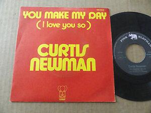 DISQUE-45T-DE-CURTIS-NEWMAN-034-YOU-MAKE-MY-DAY-034