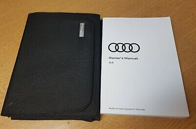 Audi A3 2016-2018 OWNERS MANUAL HANDBOOK WALLET PACK