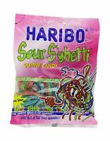 Haribo Gummi Candy Sour S'ghetti 5-ounce Bags (pack Of 12) Pack... Free Shipping