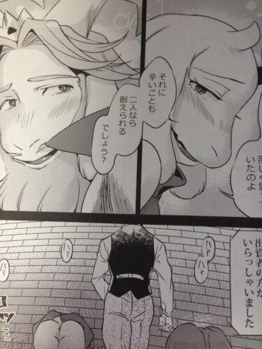 UNDERTALE Doujinshi TORIEL ASGORE B5 32pages Nambokuya Ouzoku furry kemono