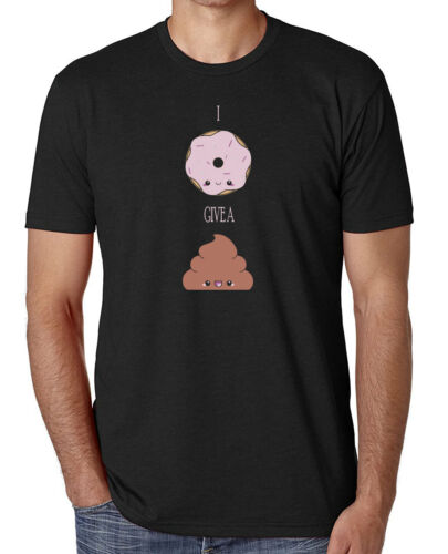 I Don/'t Give A Sh*t Funny T-Shirt Donut Comedy T-Shirts