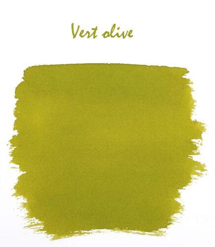 Vert Olive J Herbin Bottled Fountain Pen Ink 30mL - H130-36 Green Olive