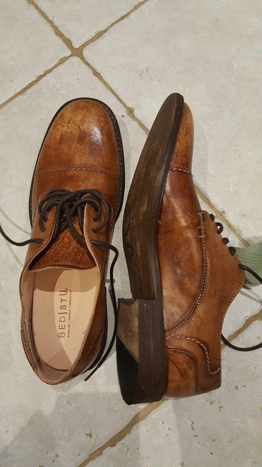 Bed Stu Stu Stu tan leather herren schuhe Größe 10.5 a97f03