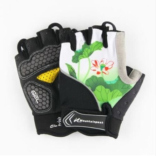 Summer Cycling Gloves Half Finger Riding Sport MTB Mountain Road Bicycle Bike