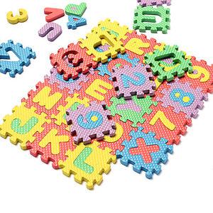 36Pc-Light-Color-Toy-Foam-Floor-Alphabet-amp-Number-Puzzle-Mat-For-Kid-QA