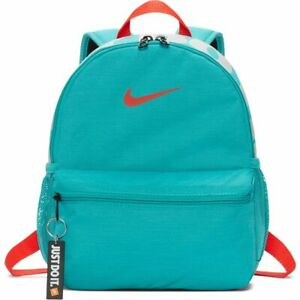 Details zu Nike Brasilia JDI Kinderrucksack (Mini) türkisblau BA5559 309