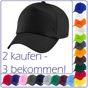ORIG-Beechfield-Basecap-baseball-5-panel-cap-parasol-Casquette-21-couleurs-034