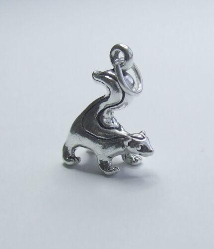 Skunk 3d encanto plata esterlina 925