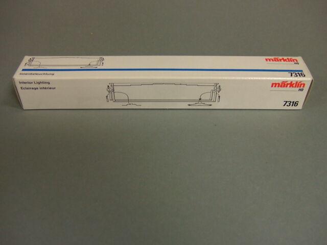 Märklin interior lighting 7316 For 4365 and 4367 cars