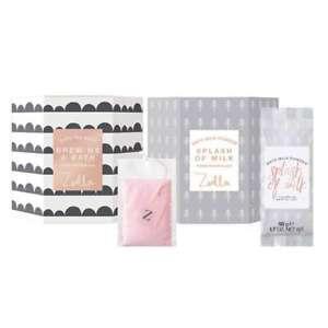 Zoella-brasser-Me-un-bain-ensemble-cadeau-avec-bain-sachets-de-the-lait-amp-Plus