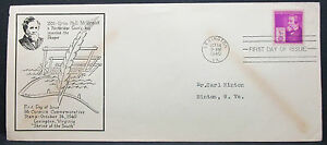 US-Mccormick-Commemorative-Cover-FDC-Lexington-3c-USA-First-Day-Cover-H-7785