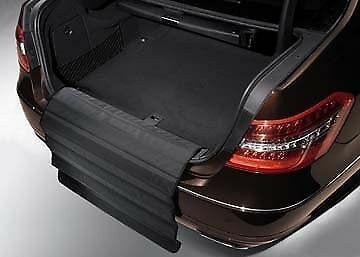 NEW GENUINE MERCEDES BENZ GL CLASS X164 REAR LOADING SILL BLACK PROTECT COVER