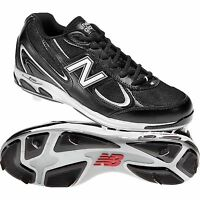 Mens Balance 1103 Baseball Cleats Size 13 Ee Wide Black White
