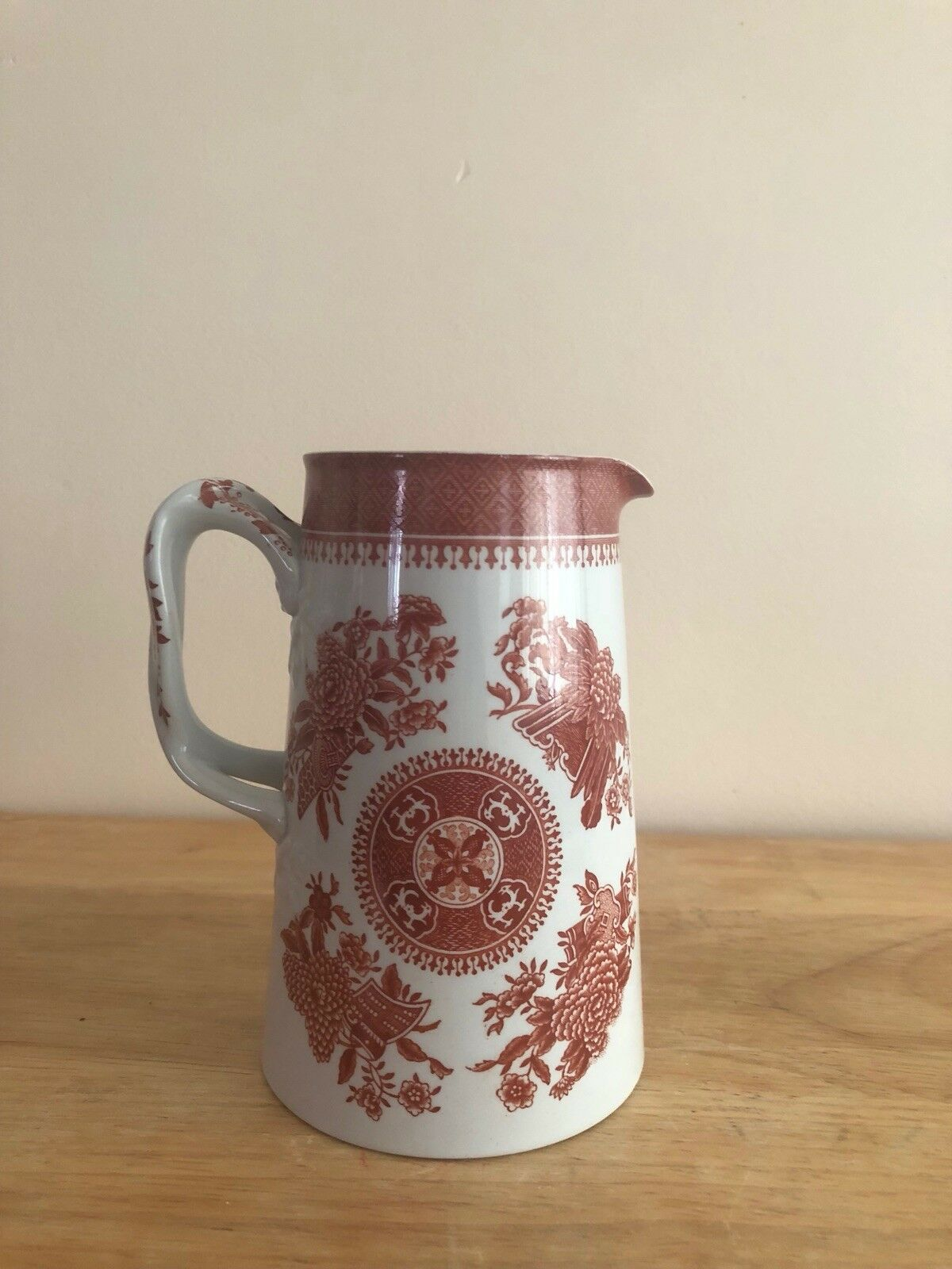 Water pitcher spodes fitzhugh, English, mint condition