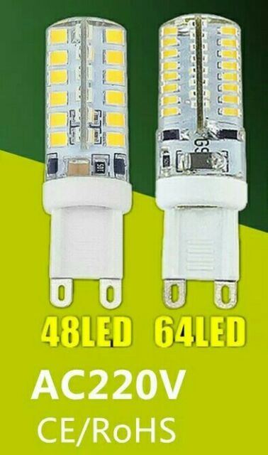2 Bombillas Led G9 220V