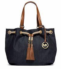 Michael Kors Tasche/Handtasche/Bag MARINA LG Drws Gathered Tote Denim NEU!