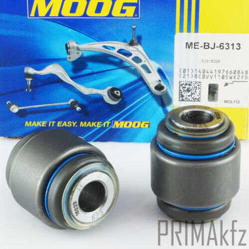 2x Moog me-bj-6313 armazón articular liderazgo en las articulaciones atrás mercedes w124 w210 w140 s210