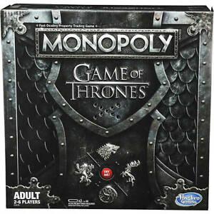 Neuf-Monopoly-Jeu-de-Thrones-Edition-Board-Jeu-par-Hasbro-Age-18