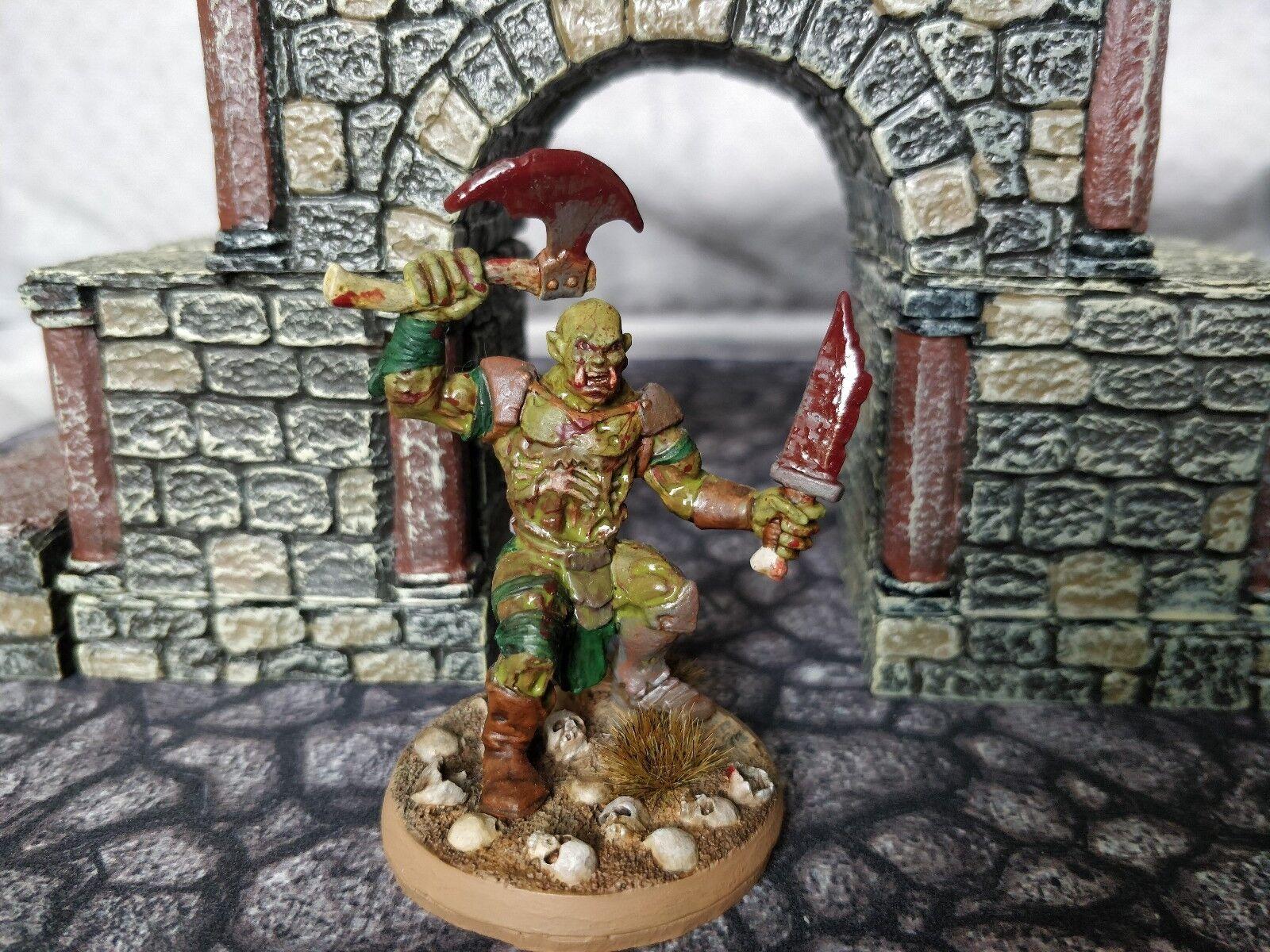 Nicely painted Reaper Bones Zombie Ogre (77284) miniature