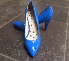 NIEUW! DOLLY DO High heels lak blauw maat 38