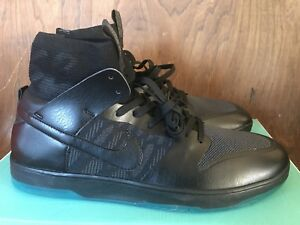 official photos b7ef4 227f9 Details about Nike SB Zoom Dunk High Elite 917567 003 Black / Atomic Teal -  Size 12 - NIB!!!