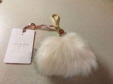 7b861100447b item 1 Ted Baker Cream Faux Fur Bag Charm (BNWT) -Ted Baker Cream Faux Fur  Bag Charm (BNWT)