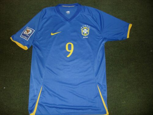 BRASIL AWAY QUALIFIERS WC 2010 Match Issued Shirt XL