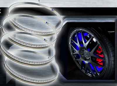 Oracle LED Illuminated Wheel Rings Rim Light Kit w/ Switch (Blue)