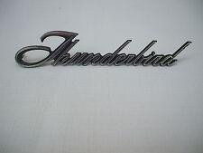 "1970's FORD ""THUNDERBIRD""  EMBLEM  BADGE SCRIPT TRIM   FOMOCO #  D2SB-6504460-A"