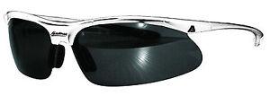 Akadema Baseball White Hawthorne Shatterproof Sunglasses 100% UV Protective