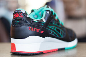 the latest ec965 ad8e0 Details about Asics Gel Lyte III 3 Future Camo Black Red Mint size 13 . v  saga ii