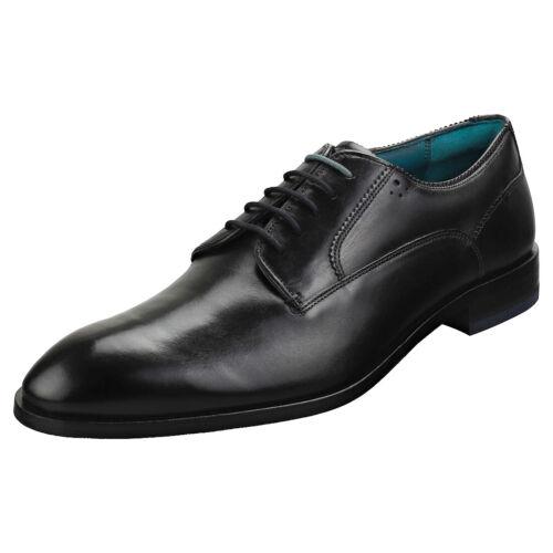 Ted Baker Parals Mens Black Leather Smart Shoes