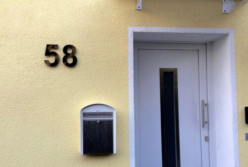 Nummer Türnummer Postnummer Plexiglas Hausnummer Hochglanz Schwarz 9H01