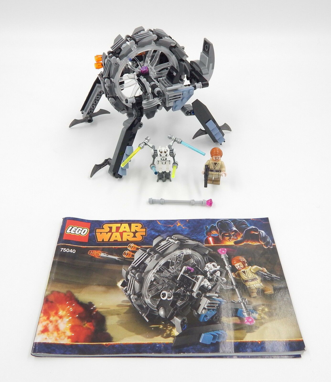 LEGO estrella  guerras 75040 General Grievous 'rueda Bike-USATO  punto vendita
