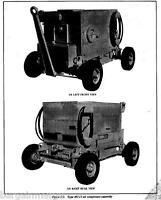 Davey Gasoline 1mc11 Compressor Technical Manual Parts Breakdown