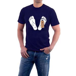 Mr Jolly Lives Next Door T-shirt FATTY'S FEET Comic Strip MJLND Tee Sillytees