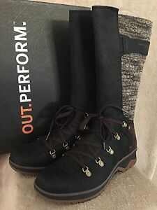 MERRELL-J42372-Eventyr-Peak-Waterproof-Leather-Boots-Shoes-US-9-5-M-EUR-40-5-NWB