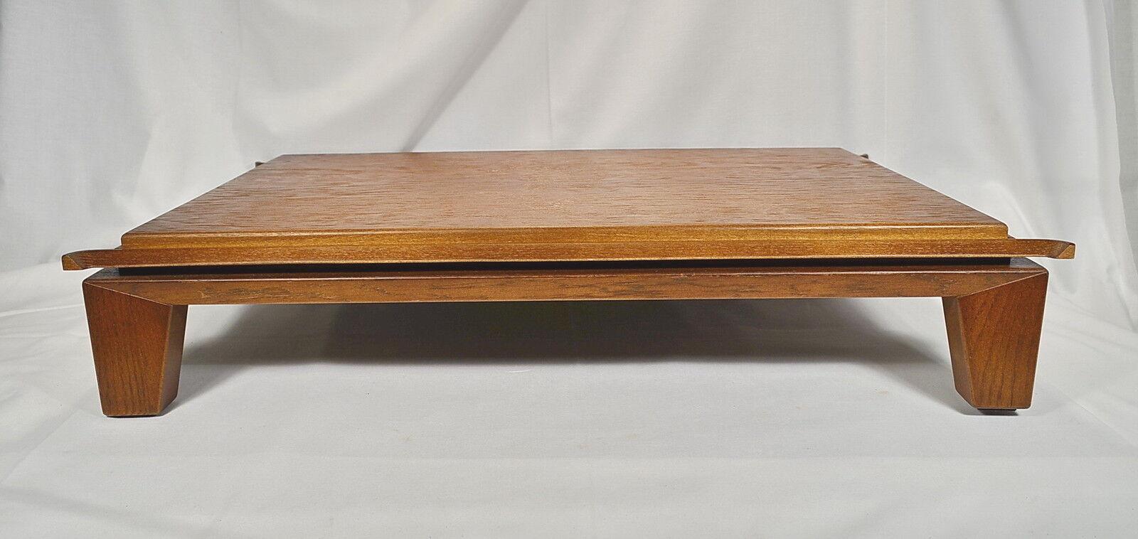 BONSAI presentazione tavolo MASSELLO ALLUNGABILE BONSAI tavolo handmade pezzo unico 60-40-14