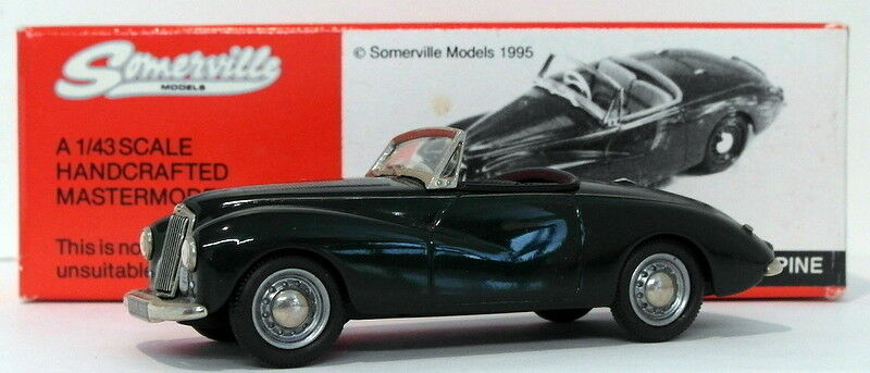 Somerville Models 1 43 Scale 137A - 1953 Sunbeam Alpine - verde