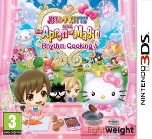 Hello Kitty Et Le Tablier De Magic Rythme Cuisine Nintendo 3 Ds