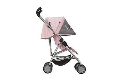 Silver Cross Silla de Paseo gemelar para mu/ñecos Pop MAX Recomendado para ni/ños de 4 a 9 a/ños. Tejido Vintage Pink
