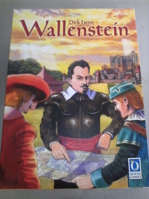 WALLENSTEIN stunning classic strategy game - original print MINT