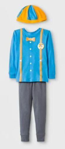 BLIPPI 3 Piece Pajama Set Halloween Costume