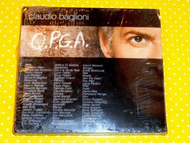 CLAUDIO BAGLIONI  -  O.P.G.A.  -  2 CD 2009  DIGIPACK  NUOVO E SIGILLATO