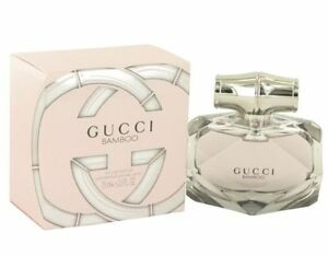 Gucci Bamboo By Gucci 25 Oz Edp Perfume For Women New In Box