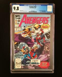 AVENGERS-316-CGC-9-8-NM-M-Spider-man-joins-Nebula-Byrne-more-CGC-in-store